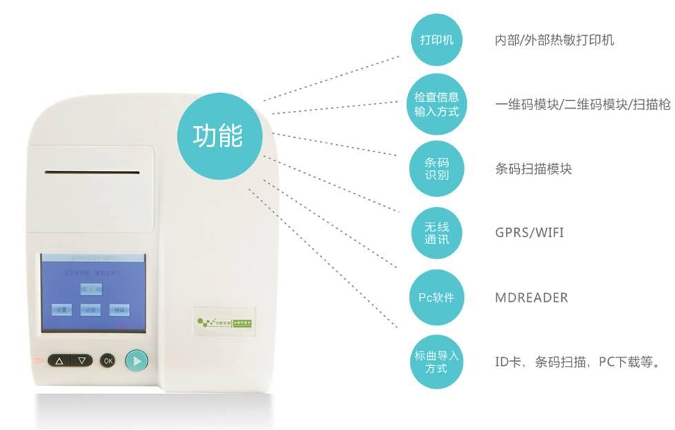 黄曲霉毒素M1荧光定量检测仪